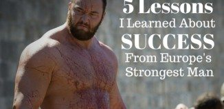 lessons learned from Europe's strongest man